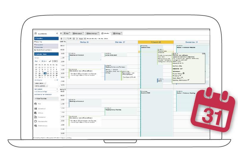 Terminplanung online mit dem Online Teamkalender von EGroupware
