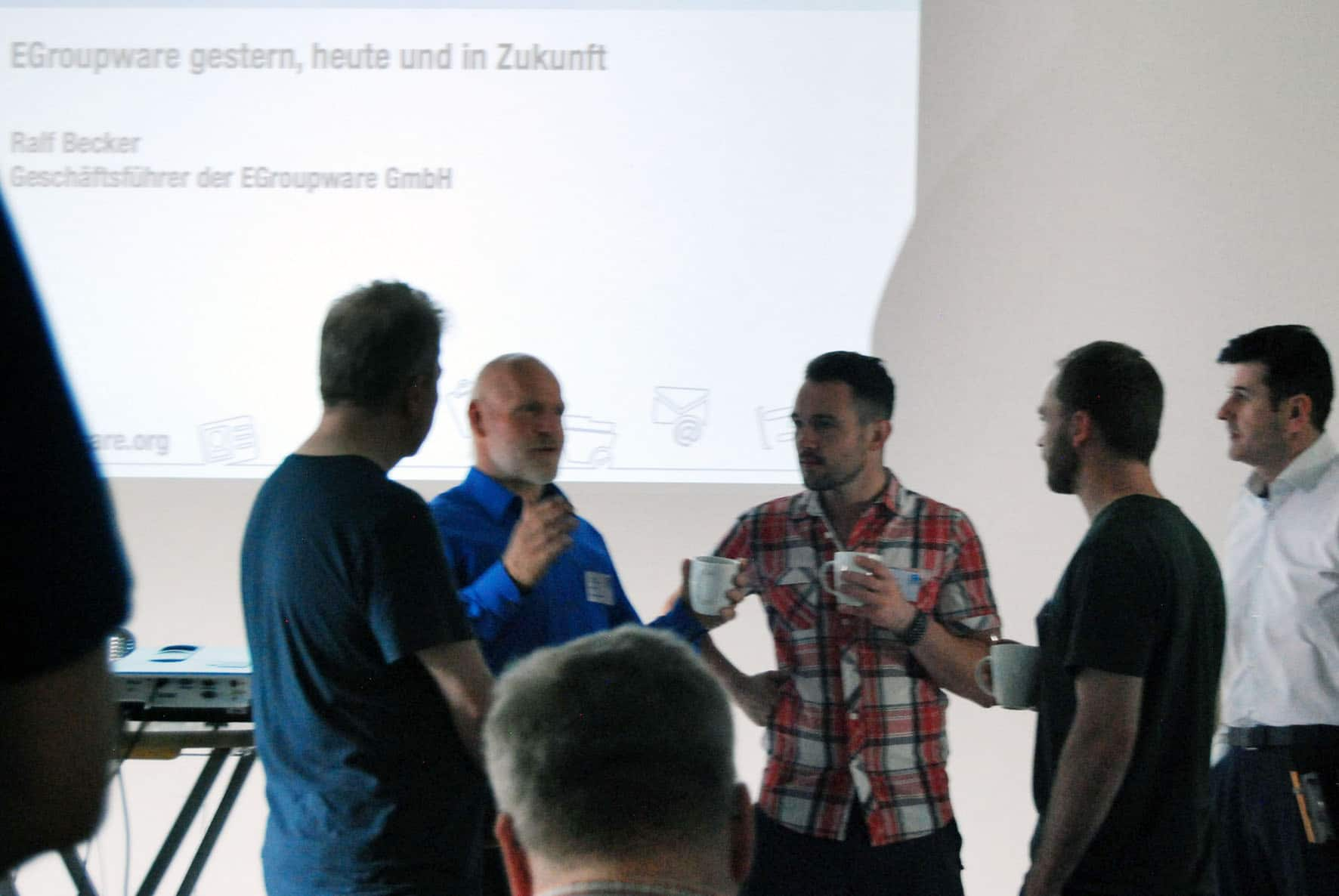 Groupware users and Ralf Becker