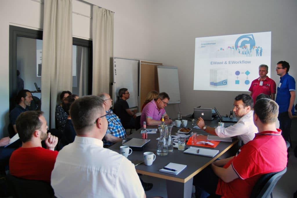 Workflow und Wawi: Huettner und Werfling