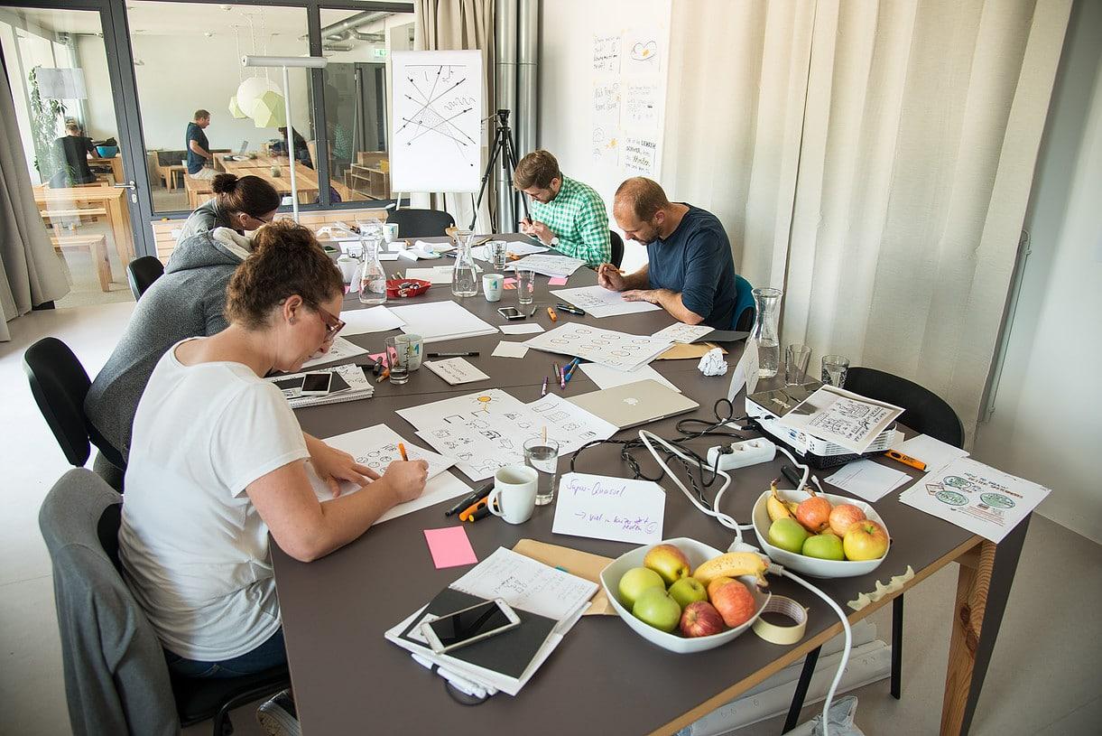 Coworking M1 Mainz - Impression
