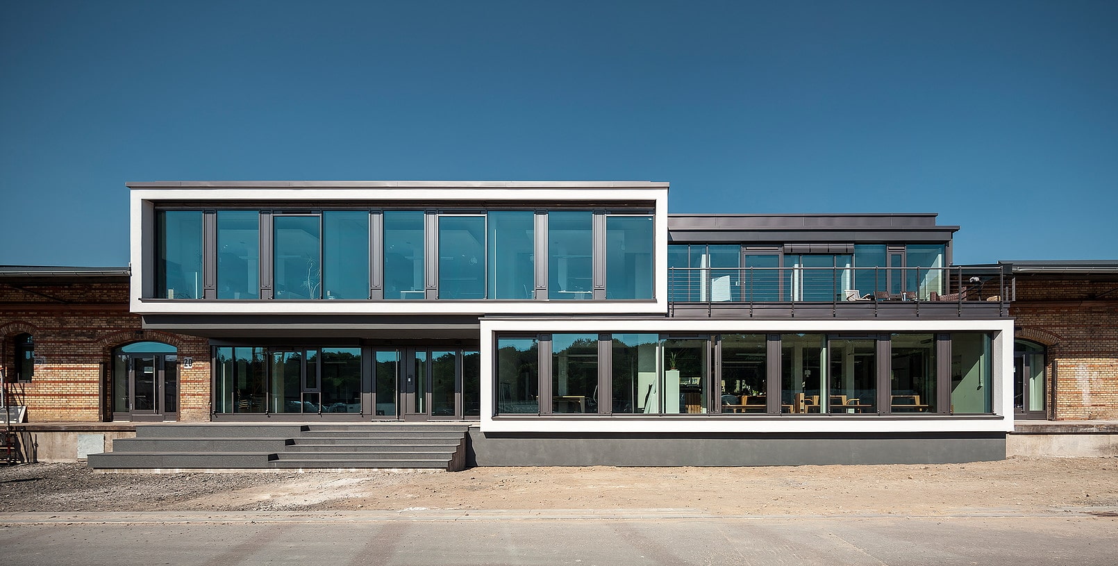 Coworking M1 Mainz - Fassade
